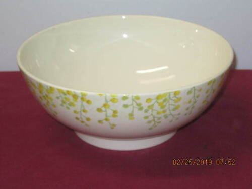 GIEN CHINA (FRANCE)   --  MIMOSA  --   ROUND SERVING BOWL