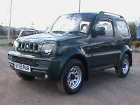 SUZUKI JIMNY 1.3 JLX 4X4 1 YRS MOT,CLICK ON VIDEO LINK TO SEE AND HEAR MORE ABOUT THIS CAR