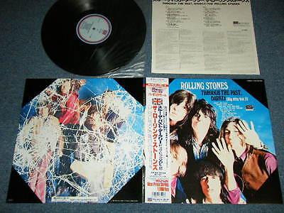 ROLLING STONES Japan 1988 NM LP+Obi THROUGH THE PAST,DARKLY BIG HITS VOL.2