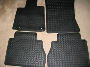 Brand new black rubber floor mats for 2014 Toyota Tundra