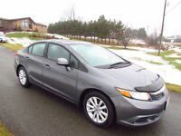 2012 Civic EX:LOADED! ONLY 35KMS! LIKE NEW INSIDE & OUT!