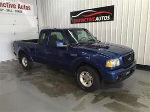 2008 Ford Ranger Sport SuperCab/V6/AIR CONDITIONING/5SPD MANUAL