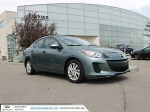 2012 Mazda Mazda3 GX/ACCIDENT FREE/ONE PREVIOUS OWNER
