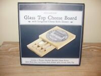 2 Brand new cheeseboards with integrated knive drawers