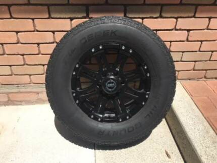 17inch 4x4 wheels and tyres