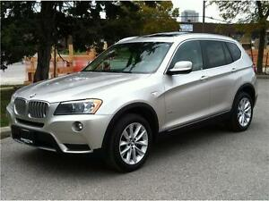 2013 BMW X3 35i EXECUTIVE PKG |NAVI|PANO|HEADS UP|NO ACCIDENTS