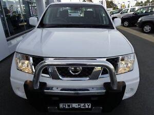 2011 Nissan Navara D40 ST (4x4) White 6 Speed Manual Dual Cab Pick-up Port Macquarie Port Macquarie City Preview