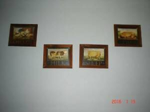 4 farmyard animal prints Cranbourne Casey Area Preview