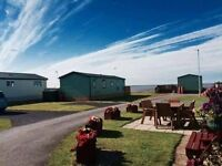 Stunning sea view van with decking cheap north west morecambe pet friendly 4* park