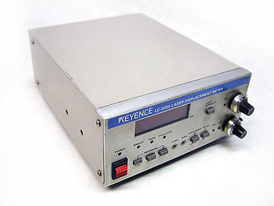 Keyence Lc-2000 High Accuracy Laser Displacement Meter Controller Sensor Lc2000