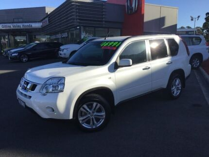 2012 Nissan X-Trail White Constant Variable Wagon Traralgon Latrobe Valley Preview