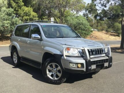 2006 Toyota Landcruiser Prado KZJ120R GXL Silver 4 Speed Automatic Wagon Mile End South West Torrens Area Preview