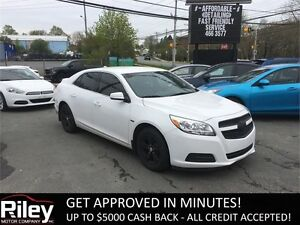 2013 Chevrolet Malibu LT STARTING AT $123.41 BI-WEEKLY