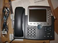 CISCO IP PHONE CP-7971G-GE - BRAND NEW IN ORIGINAL BOX - 3 AVAILABLE -