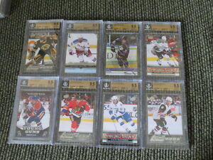 GRADED UPPERDECK YOUNG GUN HOCKEY CARDS