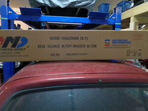 AMD Rear Valance for 70/71 Challenger