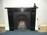 fire place cast iron