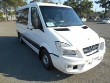 2008 Mercedes-Benz Sprinter 906 MY08 Upgrad 318 CDI MWB White 5 Speed Automatic Van Condell Park Bankstown Area Preview