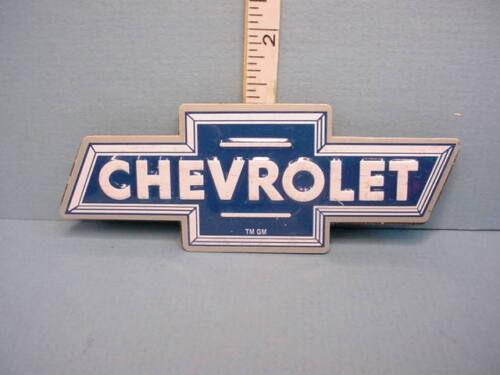 """Miniature """"Chevrolet""""   Advertising Sign Metal 1/12th Scale"""
