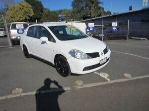 2008 Nissan Tiida C11 MY07 ST White 4 Speed Automatic Sedan Maroochydore Maroochydore Area Preview