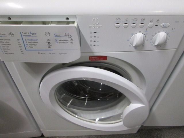 *INDESIT 1000 SPIN+LARGE 6KG+WASHING MACHINE+VERY CLEAN+FREE LOCAL DELIVERY+FREE OLD UPLIFT*