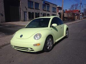 New Beetle 2001  GLS AUTO CUIR TOIT 99 000 KM ** GARANTIE 1 AN *