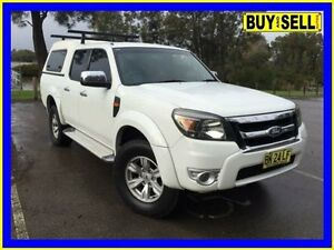 2011 Ford Ranger PK XLT (4x4) White 5 Speed Automatic Dual Cab Pick-up Lansvale Liverpool Area Preview