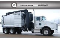 2011 GUZZLER CL WET/DRY VACUUM TRUCK - KENWORTH CHASSIS