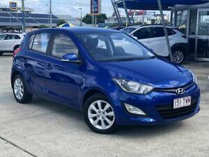2014 Hyundai i20 PB MY15 Elite Blue 4 Speed Automatic Hatchback Chermside Brisbane North East Preview