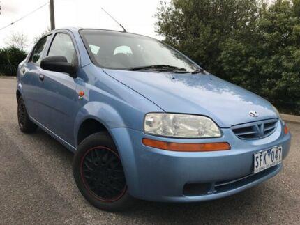2003 Daewoo Kalos T200 Blue 4 Speed Automatic Sedan