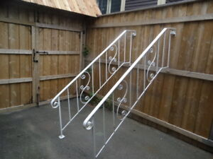 Die-cast Outside Handrails 92 inch long - 2pcs.