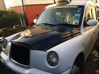LTI London Taxi TX2 silver