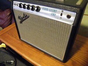 Original 1968 Fender Vibro Champ Amp and a '62 Telecaster RI