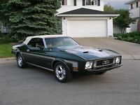 1973 mint mustang convertible MACH 1 Trim for sale