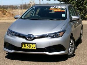 2015 Toyota Corolla ZRE182R Ascent S-CVT Silver 7 Speed Constant Variable Hatchback Hillvue Tamworth City Preview