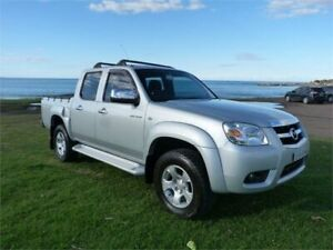 2010 Mazda BT-50 09 Upgrade Boss B3000 SDX (4x4) Silver 5 Speed Manual Dual Cab Pick-up Fairy Meadow Wollongong Area Preview