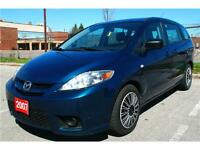 Winter sale--2007 Mazda 5, 3 Rows, 6 Seats