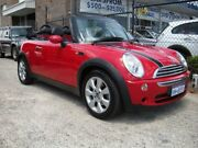 2006 Mini Cooper R52 Cabrio Red 5 Speed Manual Cabriolet Wangara Wanneroo Area Preview