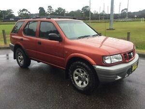 2000 Holden Frontera MX S (4x4) Burgundy 5 Speed Manual 4x4 Wagon West Gosford Gosford Area Preview