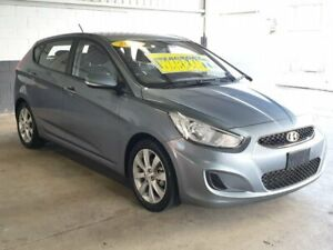 2017 Hyundai Accent RB6 MY18 Sport Grey 6 Speed Sports Automatic Hatchback Homebush Strathfield Area Preview