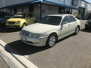 2001 Rover 75 Connoisseur SE White 5 Speed Automatic Sedan Port Adelaide Port Adelaide Area Preview