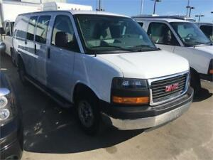 2016 GMC SAVANA 2500 cargo van short,windows, partition 19.000km
