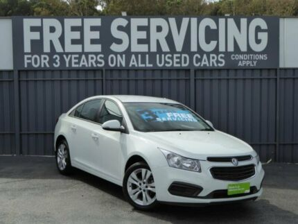 2015 Holden Cruze JH Series II MY16 Equipe White 6 Speed Sports Automatic Sedan Reynella Morphett Vale Area Preview