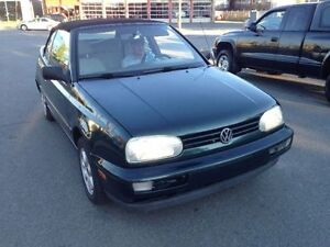 1999 VOLKSWAGEN CABRIO LOADED A/C CD MAGS 171KM PRIX 3,595.00$