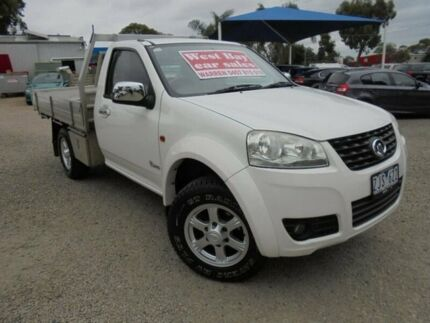 2012 Great Wall V240 White Manual Cab Chassis Hastings Mornington Peninsula Preview