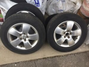 Set of 4 VW Wheels
