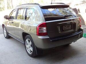 2007 Jeep Compass MK Sport Khaki Continuous Variable Wagon Willow Vale Gold Coast North Preview