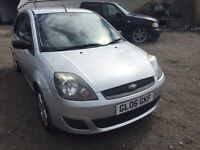 2006 Ford Fiesta, starts and drives well, MOT until 29th October, clean inside and out, car located