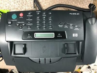 Hp 1040 Inkjet Fax Machine With Built-in Telephonescan Print Sdgob-0403-01