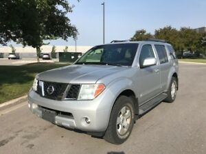 2005 NISSAN PATHFINDER SE 4X4|7PSGR|SUNROOF|TOWING PKG|ROOF RACK